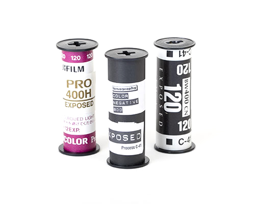 120mm Film Developing
