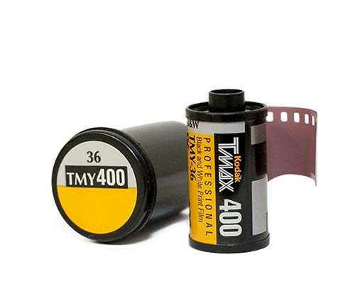 B and W film develop