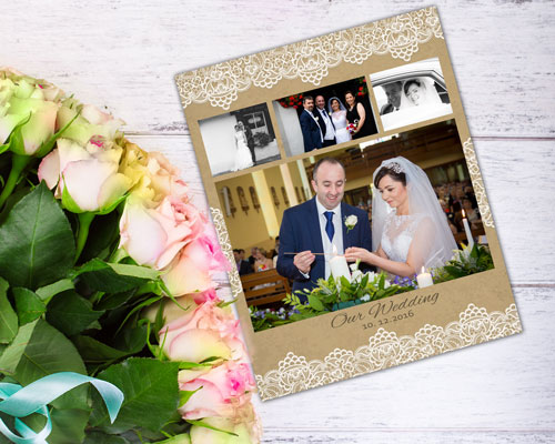 Photo collages: From basic to stylish wedding collages. / wedding