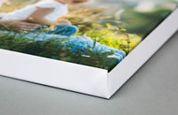 White border canvas print