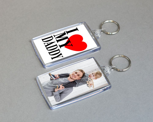 fathers day Photo keyring