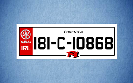 Legal Number Plate Square