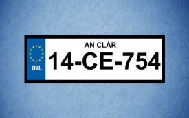 Legal Number Plate Long