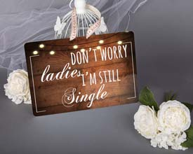 wedding sign 12x8