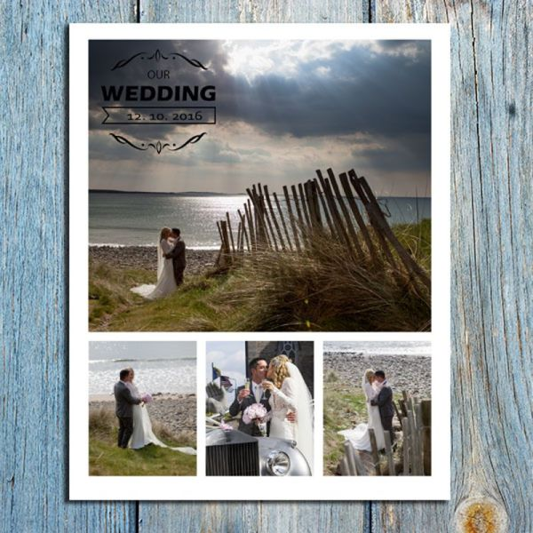 8x10 Wedding Collage 4