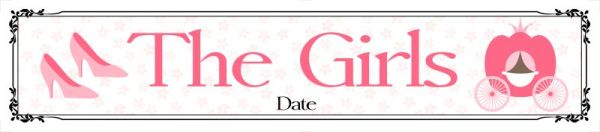 Girls wedding car number plate template 12