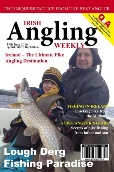 Poster Magazine Cover Angling