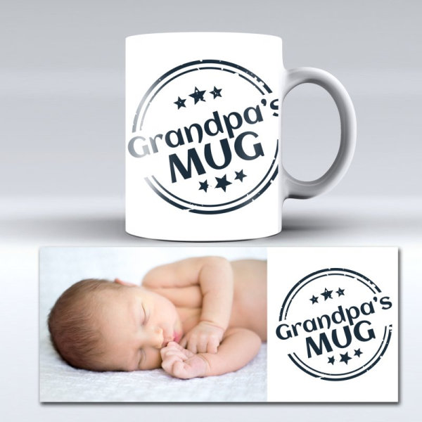 Personalised photo mug for Grandparents