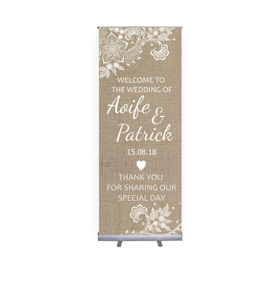 Wedding Stand Up Banner 5.psd