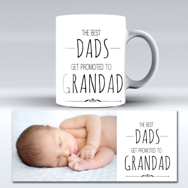 Best Grandad photo mug