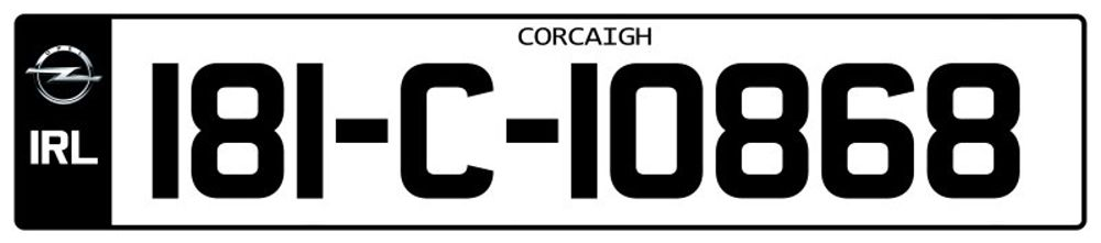 Ireland-Number-Plate-Long12.psd