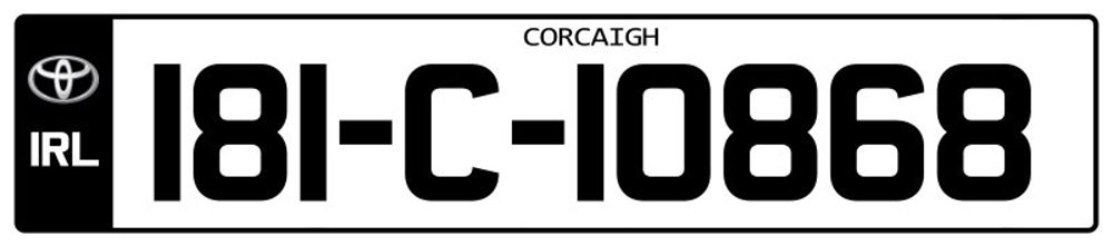 Ireland-Number-Plate-Long3.psd