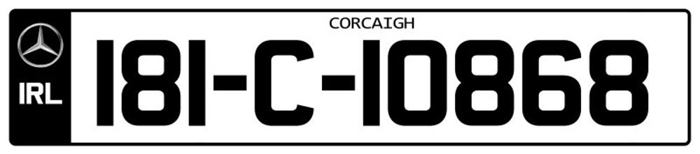 Ireland-Number-Plate-Long2.psd