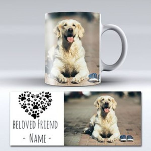 Dog memorial personalised mug | Printpoint Ireland
