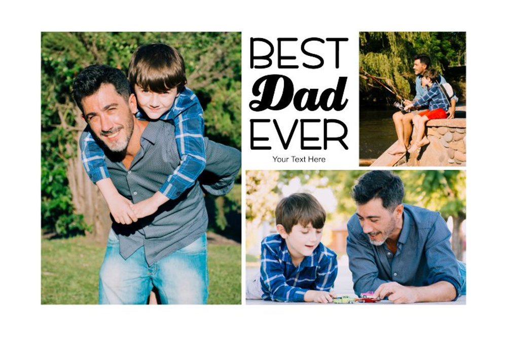 Template father 4 2-3 3pics.psd