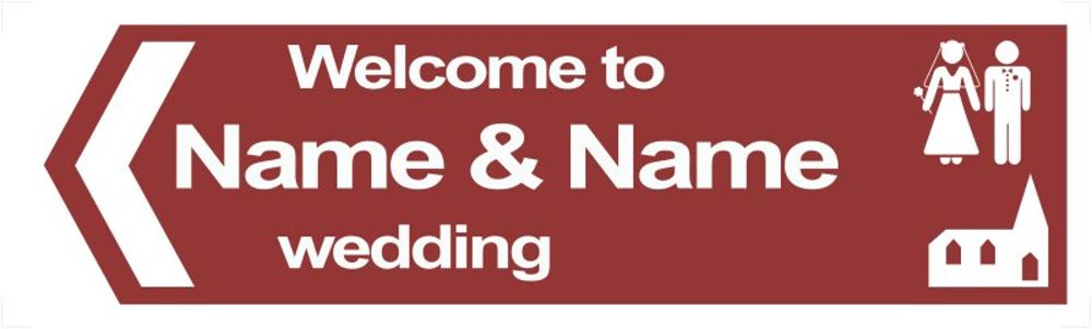 brown-wedding-road-sign-2.psd