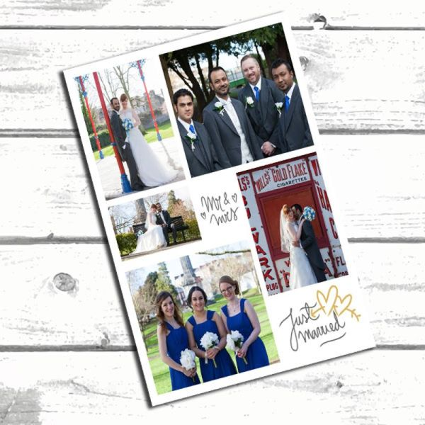 8x12 Wedding collage 6