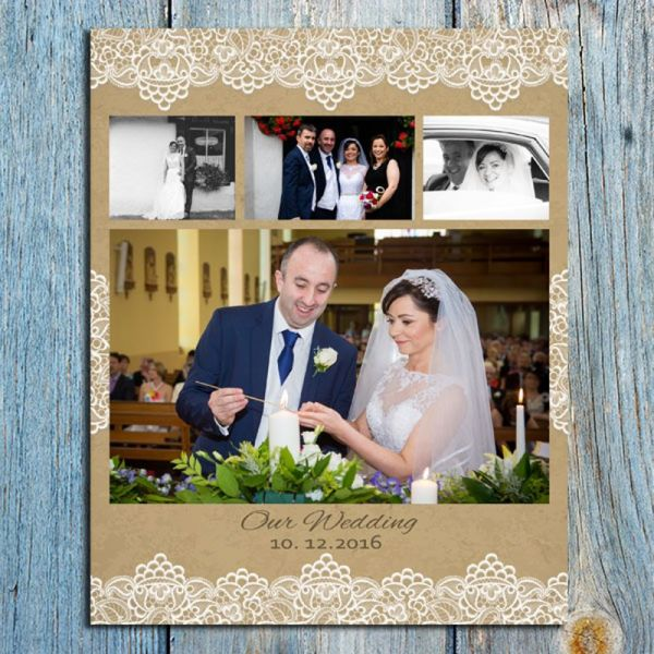 8x10 Wedding collage 8