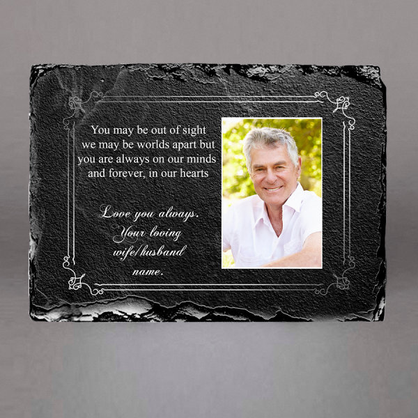 Personalised grave Slate plaques in Ireland from €25